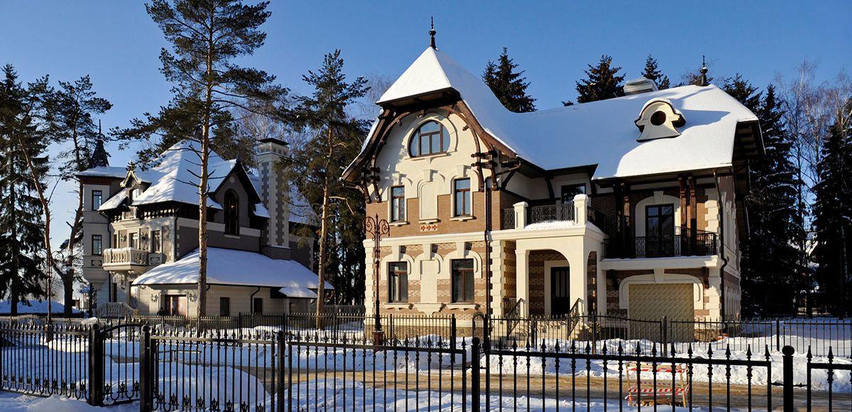 Дома в окружении сосен, КП Трувиль