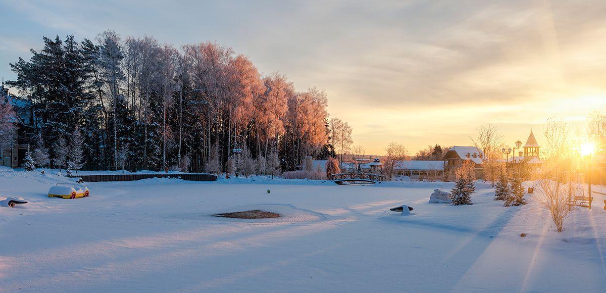 Зимний пейзаж, КП Трувиль