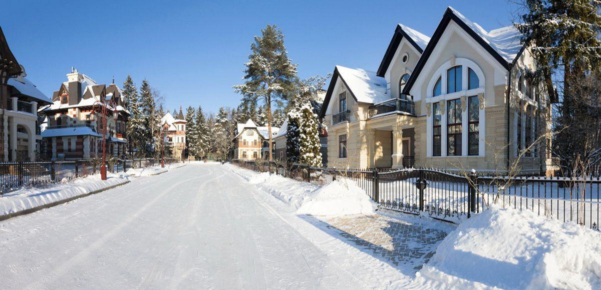 Дороги почищены, КП Трувиль, зима