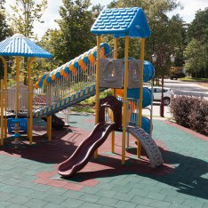 Детская площадка, горки, КП Трувиль