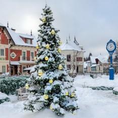 Новогодняя елка в КП Трувиль