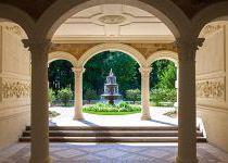 Зона отдыха с фонтаном в КП Трувиль